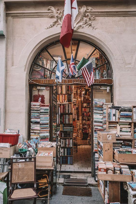 Abbey Bookshop - photo de l'extérieur
