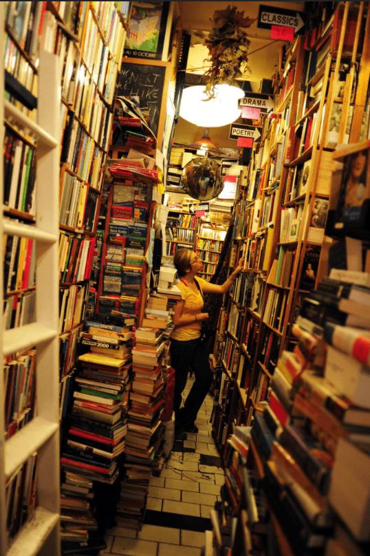Abbey Bookshop - photo de l'intérieur