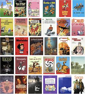 les 101 bd à lire absolument - sélection Book Village