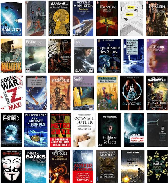 livre de science-fiction pas cher