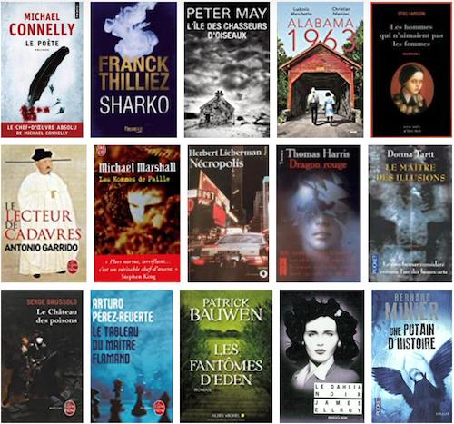 Les 100 romans policiers et thrillers à lire absolument