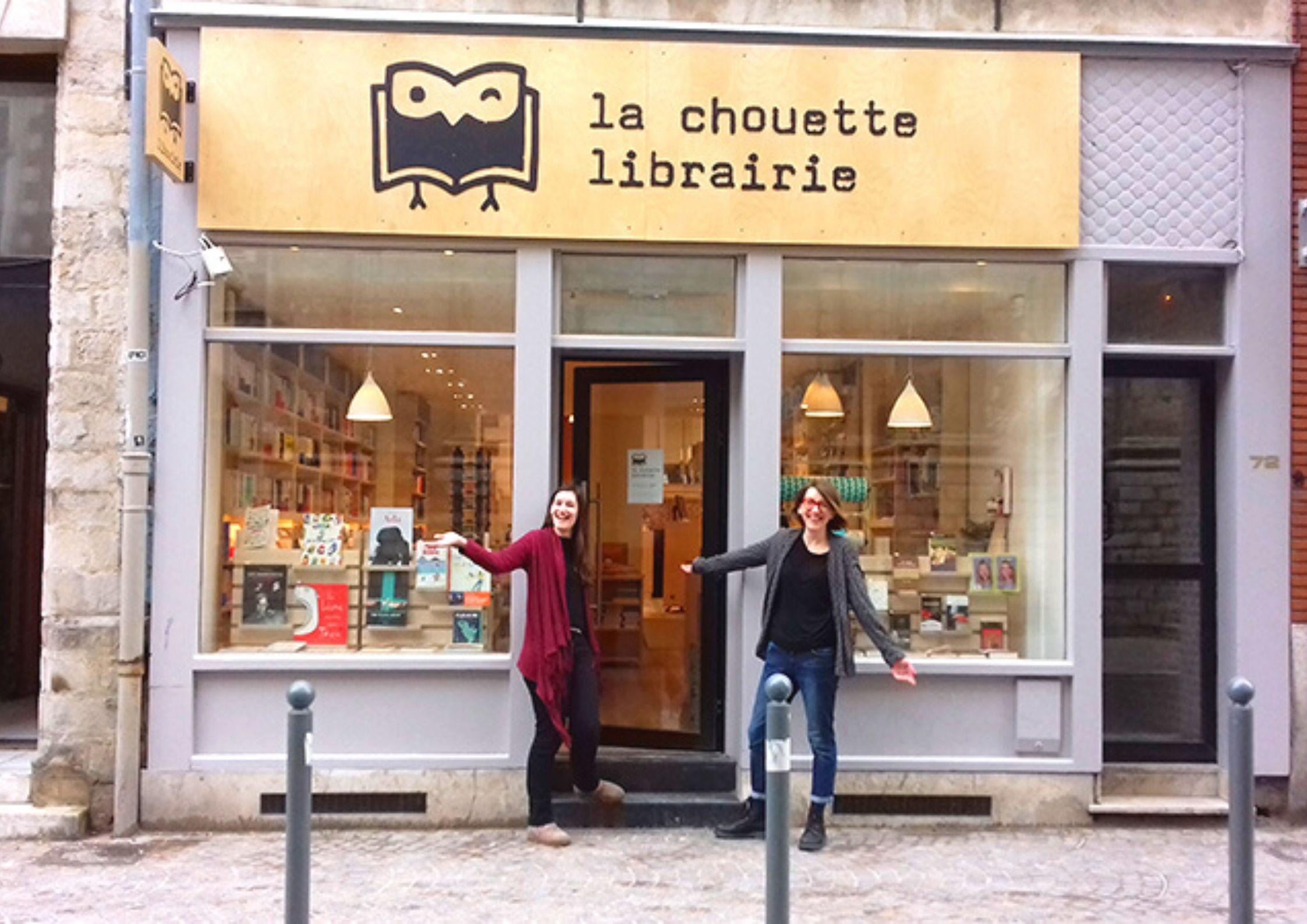 La Chouette librairie indépendante à Lille