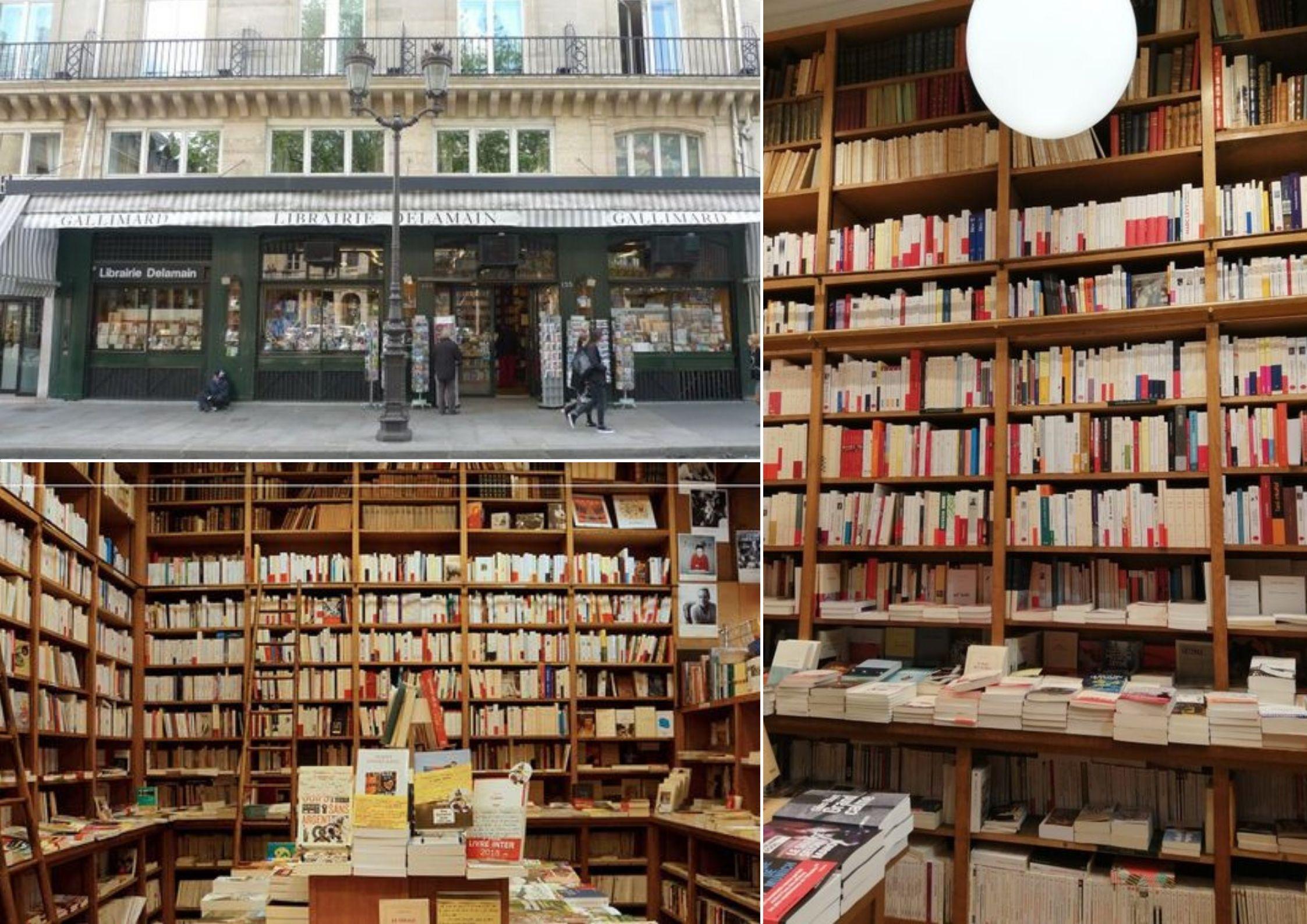 Librairies indépendantes : Delamain à Paris