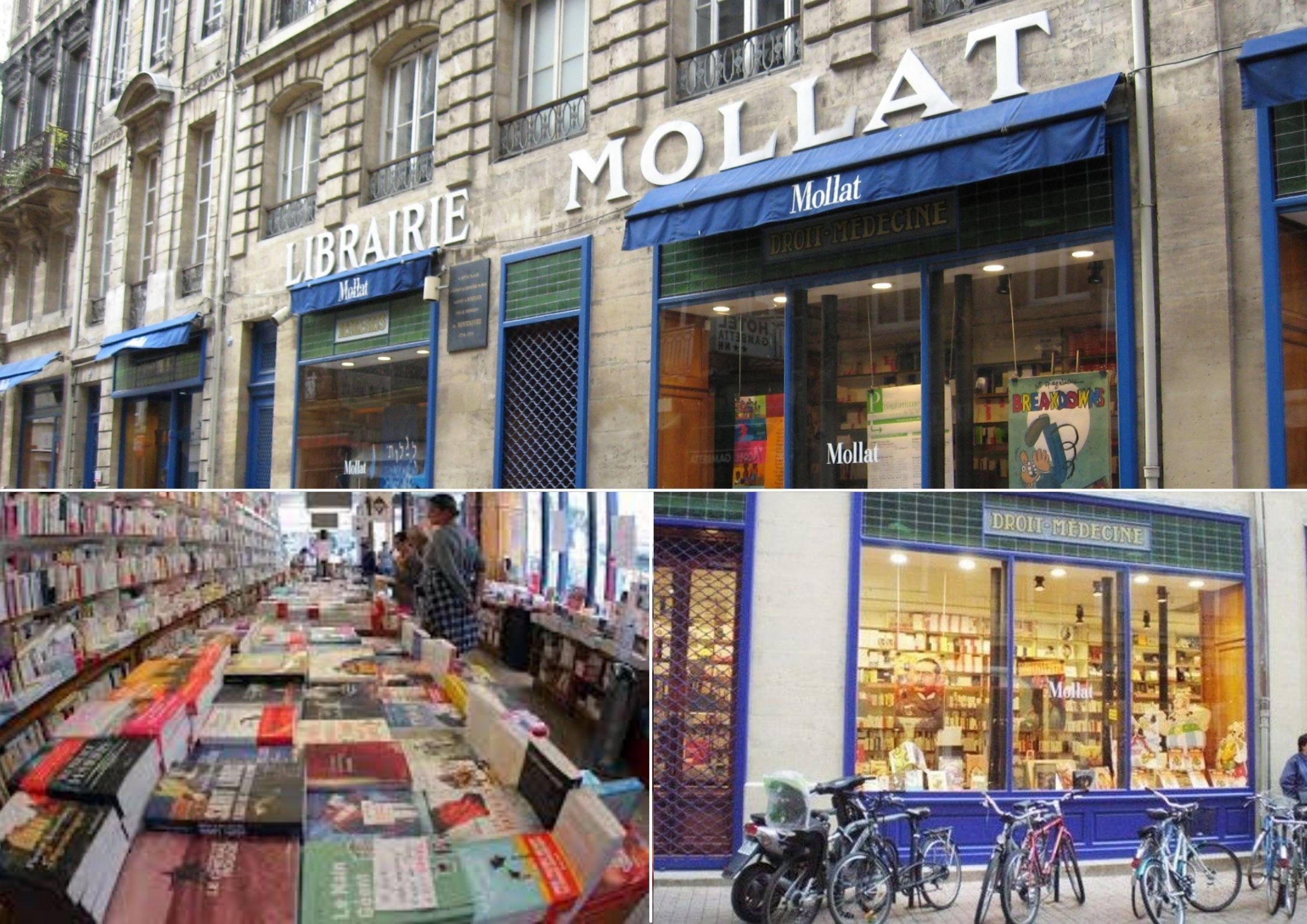 librairie indépendante Mollat à Bordeaux