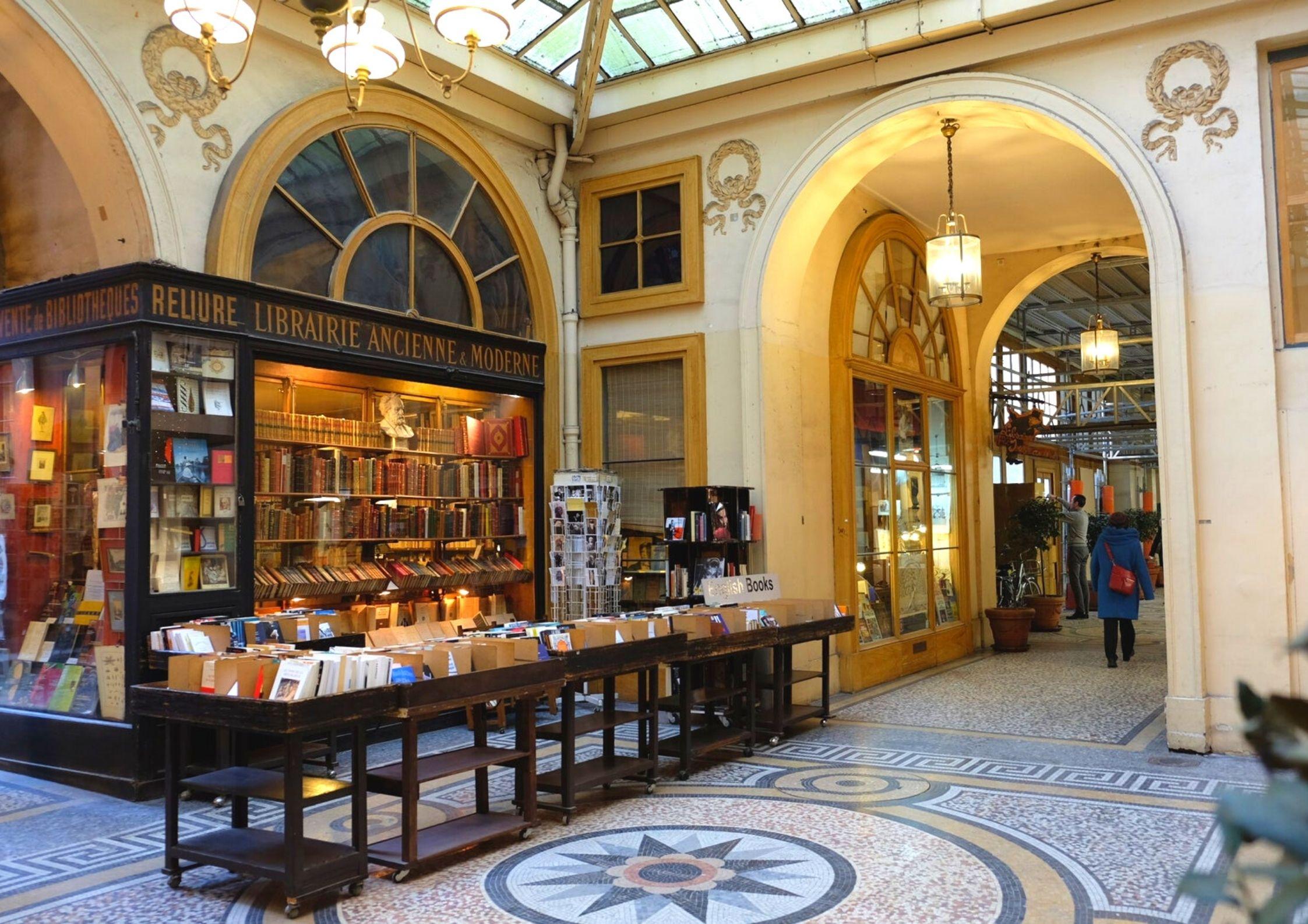 librairie indépendante Jousseaume dans la Galerie Vivienne à Paris